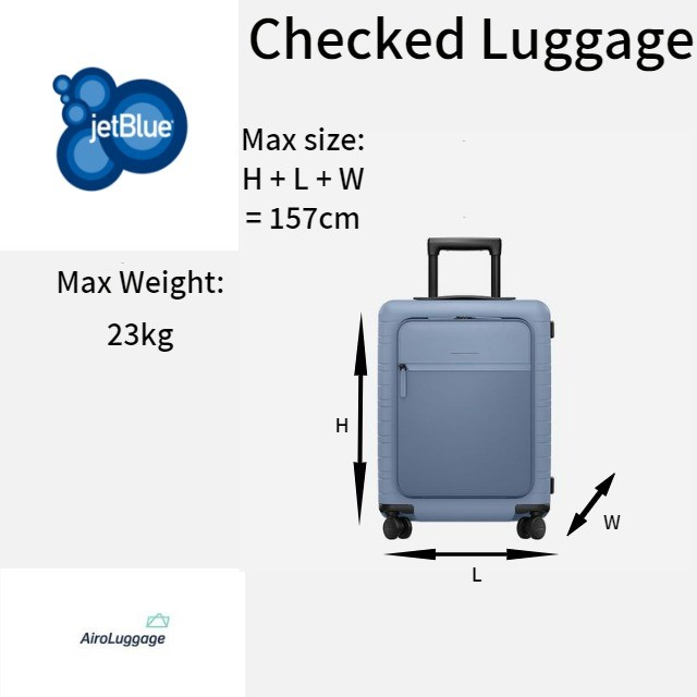 Jetblue Baggage Allowance Checking In Luggage With Jetblue